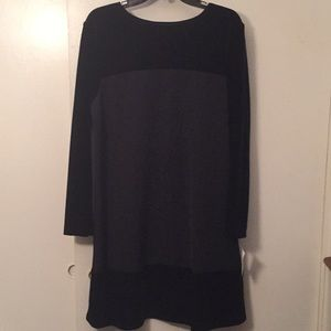 NWTCaren Desiree Company black longsleeve dress 10